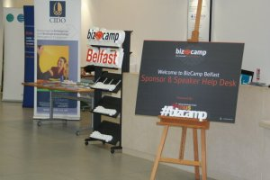 BizCamp Belfast ready for the speakers to attend
